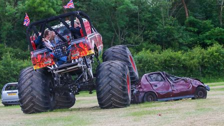 The monster trucks will be a big attraction at the Festival of Wheels 2019 Picture: HAPPY DAYS PHOTO