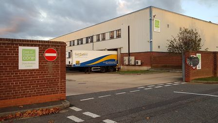 The former Dairy Crest site in Ipswich is set to be redeveloped. Picture: Rachel Edge