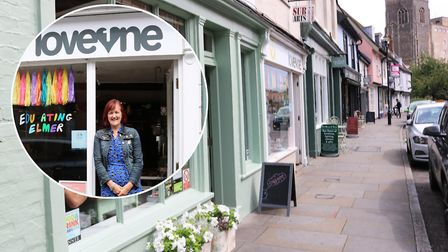 Independent Ipswich businesses can apply for a grant to help spruce up their shop fronts. Cathy Fros