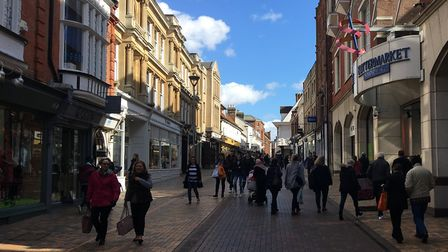 Ipswich town centre. Picture:SUZANNE DAY