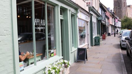 St Peter's Street in Ipswich is home to many independent businesses. Picture: CHARLOTTE BOND