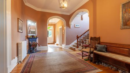 The hallway of Highfield Lodge Picture: JIM TANFIELD, INSCOPE IMAGES