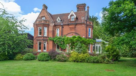 Highfield Lodge is set in mature gardens. Picture: JIM TANFIELD, INSCOPE IMAGES