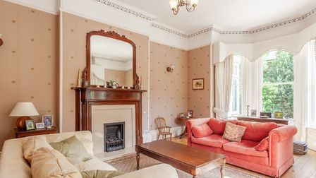 The sitting room at Highfield Lodge, Henley Road, Ipswich . Picture: JIM TANFIELD, INSCOPE IMAGES