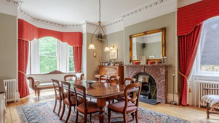 The dining room at Highfield Lodge, Henley Road, Ipswich . Picture: JIM TANFIELD, INSCOPE IMAGES