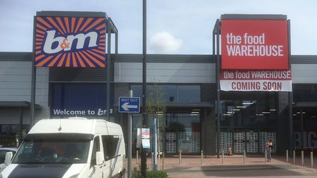 The opening date has been announced for The Food Warehouse at Euro Retail Park, east Ipswich. Could