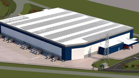Work has now started on this new 190,000sq ft carpet distribution warehouse for Headlam in Harris Wa