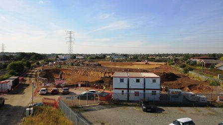 Work has begun on the Headlam Group's £26m regional distribution centre at Harris Way, Ipswich which