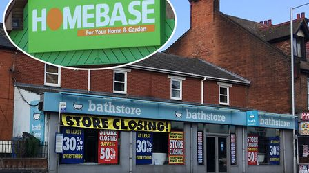 Ipswich's Bathstore, in Norwich Road, is one of 44 stores saved from closure after a Homebase takeov