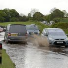 The MET Office has issued a warning for heavy rain this weekend - which could cause flooding Pictu