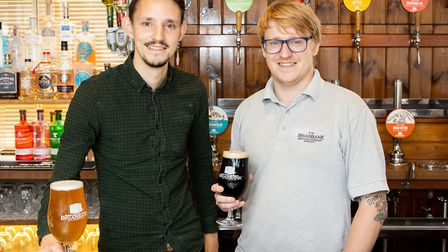The Briarbank Brewery in Ipswich has switched to producing vegan beers across its whole range - rais