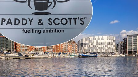 Paddy & Scott's is set to take over catering operations at the University of Suffolk. Photo Archant/