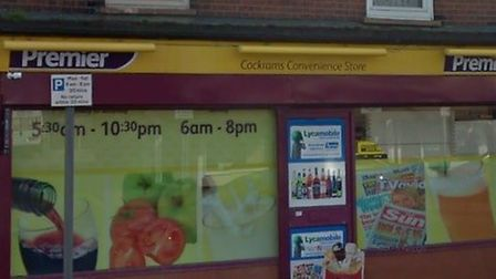The new Post Office will open inside Cockrams Convenience Store in Felixstowe Road Picture: GOOGLE M