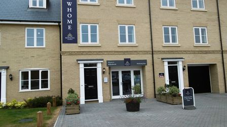 Willowbrook, the new homes development by Hopkins Homes at Bramford near Ipswich is well underway.