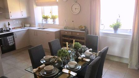 Show home at Willowbrook, Bramford. Picture: HOPKINS HOMES