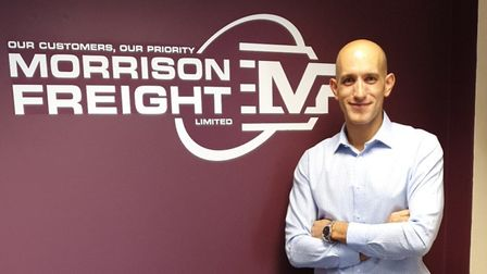 Darren Ryan, director at Morrison Freight Picture: MORRISON FREIGHT
