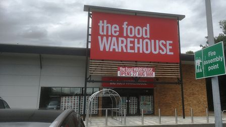 The Food Warehouse, part of the Iceland Foods Group, opens at the Suffolk Retail Park on August 27,