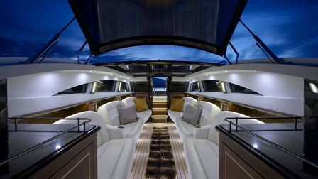 Interior design of luxury yacht by Superyacht Tenders & Toys Picture: SYTT
