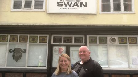 The new landlords of The Swan Inn, a venue where a young Ed Sheeran performed, are David and Amanda