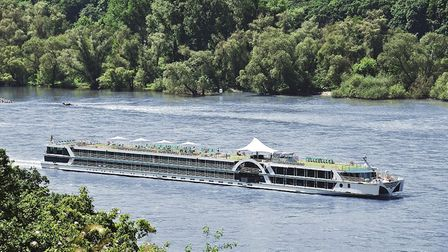 The river cruise vessel Brabant on the River Rhine. Picture: Fred. Olsen Cruise Lines