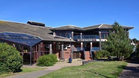 Felixstowe Leisure Centre is aging, and could be demolished under latest plans. Picture: SARAH LUCY