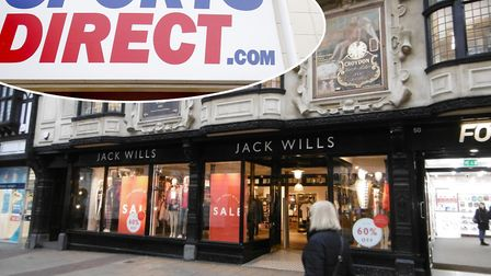 Jack Wills could enter administration if the expected Sports Direct takeover goes ahead. Photo: Arch