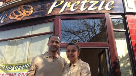Ion and Selena Andone will be open Pretzie, in Westgate Street, Ipswich on Friday. Photo: Archant.