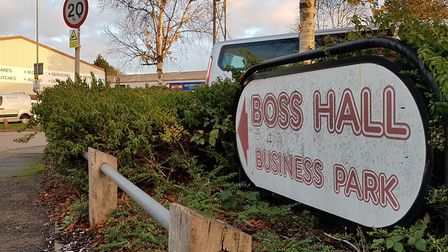 Boss Hall Business Park Plans to redevelop former Dairy Crest site in Ipswich. Oct 2018 By