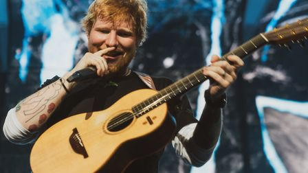 Ed Sheeran's first night at Chantry Park, Ipswich, where he is playing a series of homecoming concer