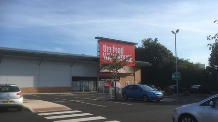 The Food Warehouse, at Suffolk Retail Park, which is preparing to open to the public on Tuesday Augu