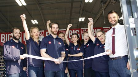 The Food Warehouse, by the Iceland Foods Group, opened today August 27, 2019 at Suffolk Retail Park,
