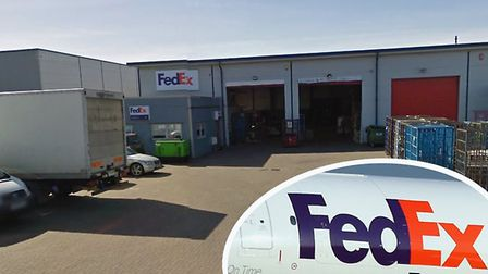 FedEx has confirmed it is planning to move work away from its site at Claydon Industrial Park. Photo