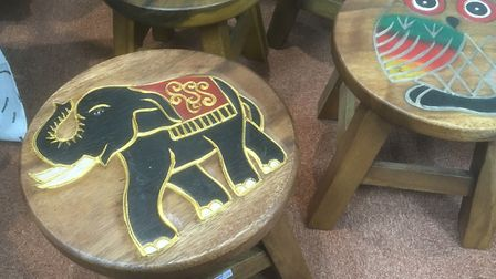 A wide range of gifts from around the world at the Fair Trade Shop in Upper Brook Street, Ipswich. P