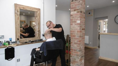Primo Hair Lounge in Tacket Street has been launched by friends Glaudio di Franco and Pasquale Iache