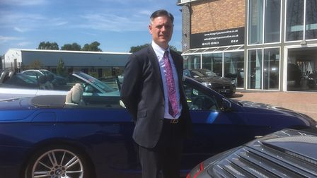 Paul Oakley, managing director of Integrity Automotive, which has relocated to West End Road, Ipswic