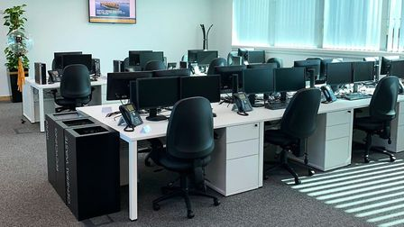 Global shipping company has invested in additonal offices pace at The Havens, east Ipswich to allow