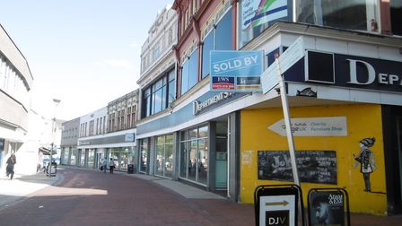 Footfall has dropped once again for the British high street. Picture: DAVID VINCENT
