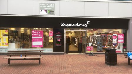 Superdrug, the health and beauty store, is closing its store in Carr Street, Ipswich. Picture: DAVID