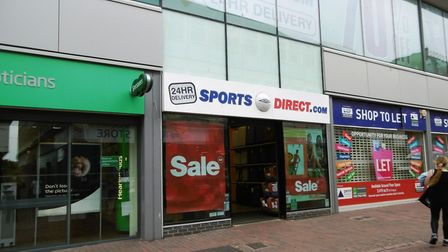 Sports Direct store in Carr Street, Ipswich. Picture: DAVID VINCENT