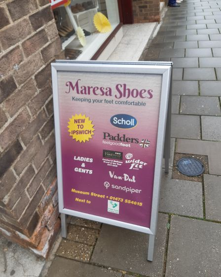 Maresa Shoes, in Museum Street, Ipswich, is set to close down just five months after opening. Photo: