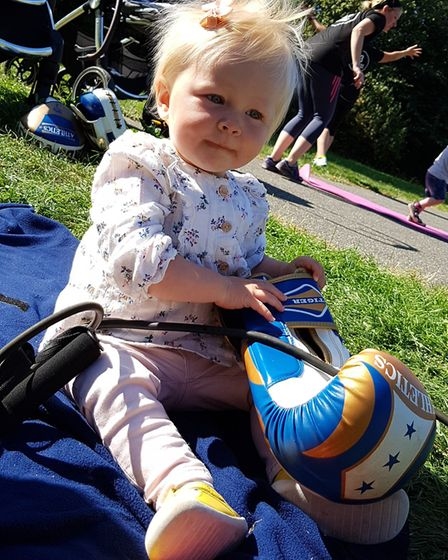 Buggy fitness sessions being held in Kesgrave, as a different way for mums to keep fit. Picture: RAC