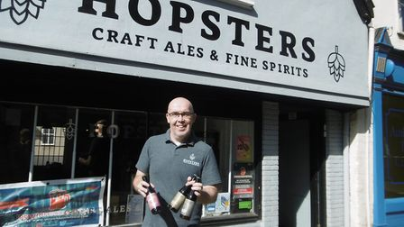 Businessman Ed Barnes of Hopsters in Ipswich is bringing the Ipswich Beer Festival back to Ipswich C