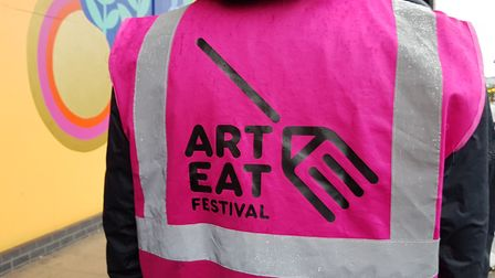 Launch of the Art Eat Festival at Ipswich Waterfront. PICTURE: RACHEL EDGE