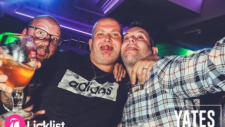 Were you pictured parting in Yates on Saturday? Picture: LICKLIST