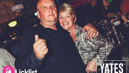 Were you partying in Yates Ipswich on Saturday 14 September? Picture: LICKLIST