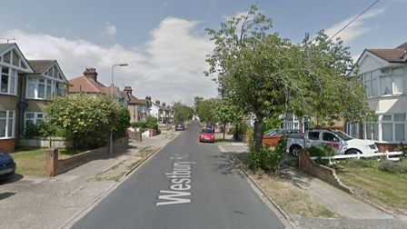 Two boys believed to be aged 7 and 12 threatened a woman in her 60s at knifepoint and stole her car