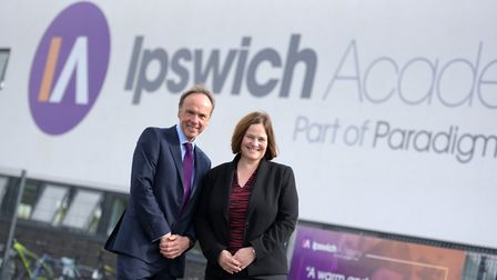 Richard Lister, Chair of the Ipswich Opportunity Area and School Principal of Ipswich Academy, Hele