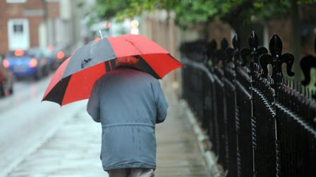 Heavy rain is expected to return to the region today Picture: PHIL MORELY