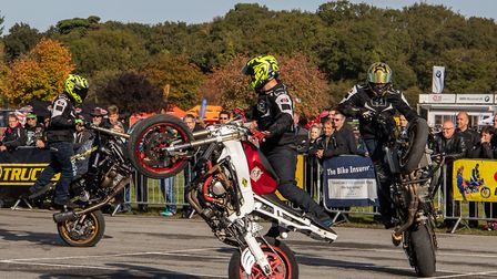 The 2018 Copdock Motorcycle Show at Trinity Park. Picture: TIM GARRETT-MOORE