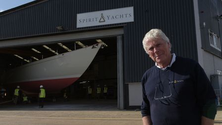 Sean McMillan, founder and chief designer of Spirit Yachts Picture: SARAH LUCY BROWN